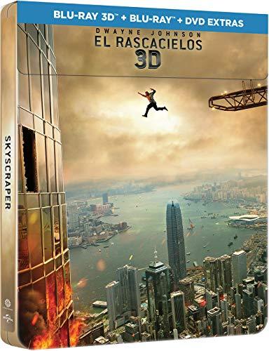Skyscraper: El Rascacielos - Edición Limitada Metal (3D + BD + DVDs) [Blu-ray]