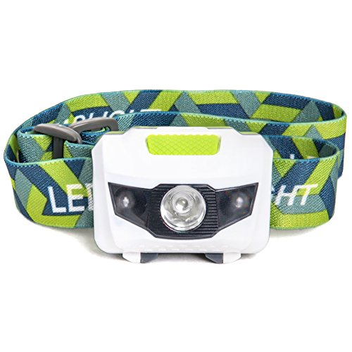 LED Headlamp - Great for Camping, Hiking, Kids, and Dog...