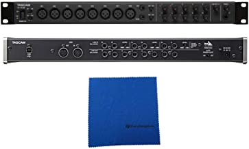 Tascam US-16x08 16-in, 8-out USB 2.0 Audio/MIDI Interface with Microfiber