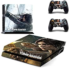 Vinyl Skin Protective Gaming Decal Cover for Playstation 4 Console and 2 Controller by Mr Wonderful Skin