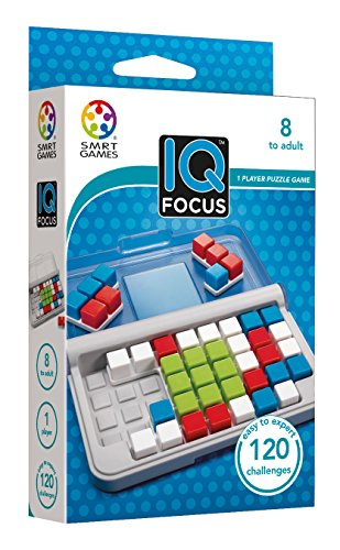 エスエムアールティゲームス(SMRT Games) IQフォーカス 脳トレ パズルゲーム 14x9.5cm SG422JP 正規品