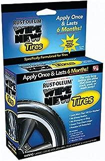 Rustoleum TRCAL 2 Fluid Oz Wipe New Tires Kit