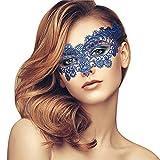 Lady of Luck Máscara de Encaje, Mujeres Antifaz para Veneciano Mascarada Carnaval Fiesta de Baile