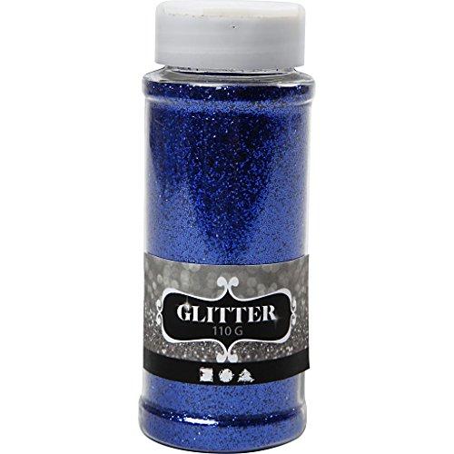 Glitter, blau, 110g