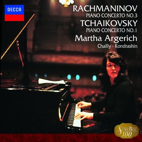 チャイコフスキー: ピアノ協奏曲第1番/ラフマニノフ:第3番