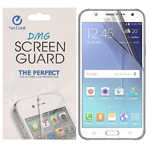 DMG SoCool Screen Protector for Samsung Galaxy J5 J500 (Pack of 2 Matte Anti Glare Anti Fingerprint Scratch Guard)