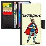 utaupia Coque Redmi Note 9s Simili Cuir Rabat Portefeuille Super Bretonne Texte Noir Antichoc Humour...