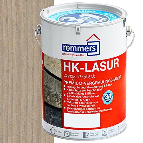 Remmers HK-Lasur Holzschutzlasur 2,5L Silbergrau