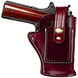 Triple K 39 Packer Holster for Ruger MK I, Ii, III, IV with 6.88' Barrel Walnut Oil, Plain Finish, 6 7/8'