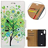 KM-WEN® Case for Wiko View 2 Plus (5.93 Inch) Book Style