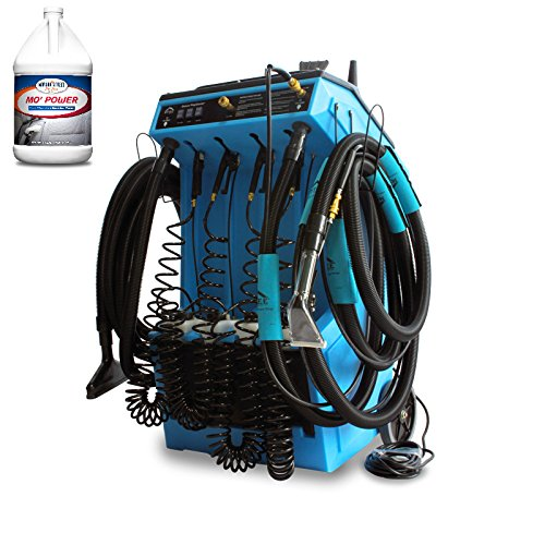Made in The U.SA. Mytee Prep Center 80-120 S All-in-One Detail Machine w/Heat + Bulk Carpet Extractor Cleaner - 8 Quarts Included Makes 44 to 128 Gallons - Bundle 2 Items