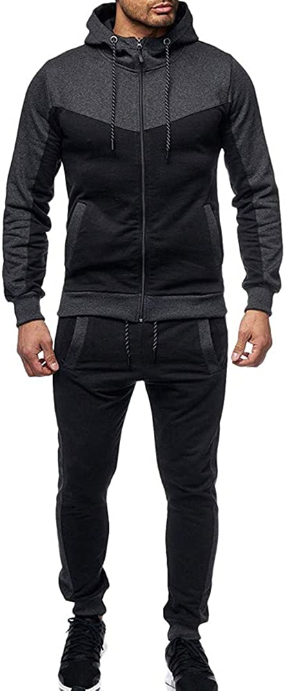Mens Autumn Winter Gradient Print Hoodie Spo Slim Spring new work one after another Popular shop is the lowest price challenge Set Sweatshirt