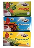 Shavuot 100% Natural Jamaican Cerasee Cinnamon Peppermint Tea 24 Bags (Pack of 3)