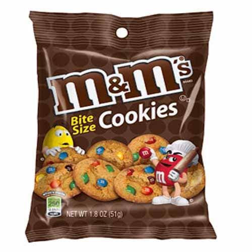 M&Ms Cookie Bites Beutel (51 g), 5 Beutel