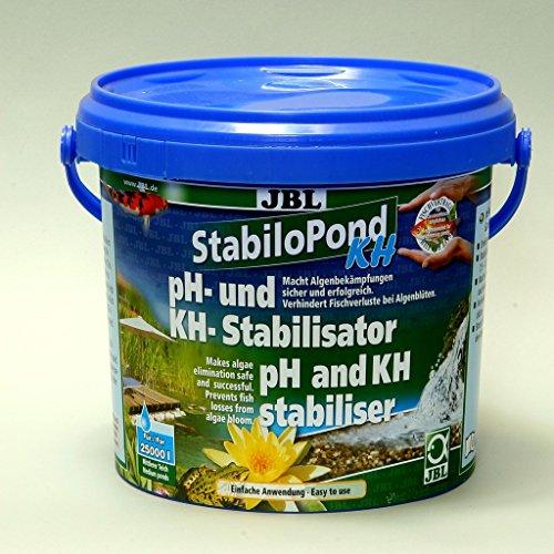 JBL Stabilo Pond KH 27319 PH-Stabilisator für Gartenteiche, 2,5 kg