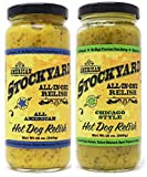 American Stockyard Hot Dog Relish Combo - American & Chicago Style - 2 Pack