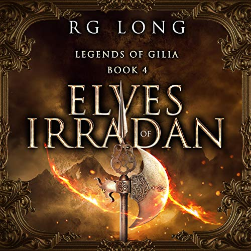 Elves of Irradan audiobook cover art