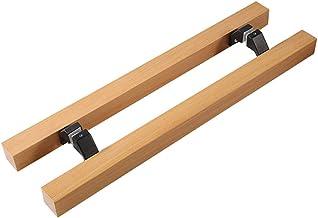 LHL-DD Deurgrepen, schuifdeurgrepen, H-vormig houtmateriaal, trein voor glazen deuren, dubbelzijdige greep, hardware-grepe...