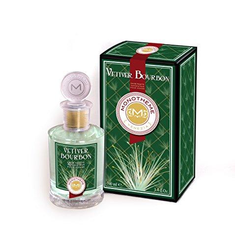 Monotheme Venezia Fine Fragrances Monotheme Vétiver Bourbon Eau Pour Homme, Eau De Toilette, One size, 100 ml