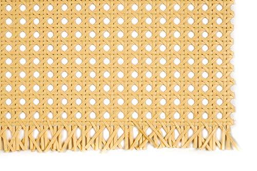 rattan-petrak Papiergewebe, Wiener Geflecht, Wabengeflecht, Breite 60 cm, beizbar/lackierbar