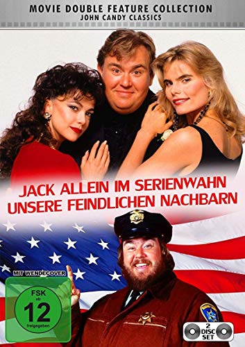 Unsere feindlichen Nachbarn / Jack allein im Serienwahn [2 DVDs]