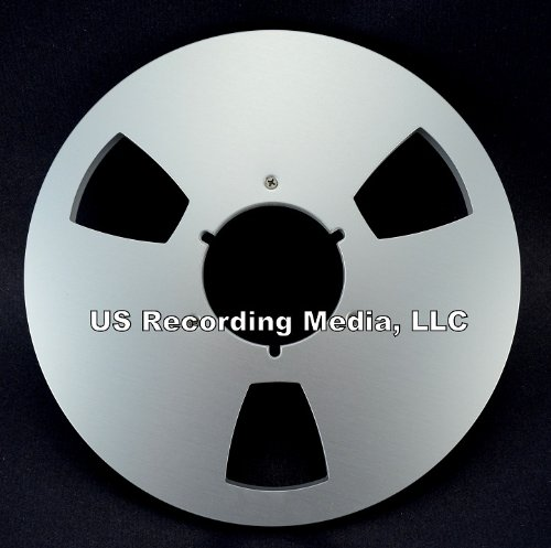 Open Reel Tape Aluminum Takeup Reel 1/4' X 10.5' DIAMETER Empty ATR AMPEX Quantegy Style by TME