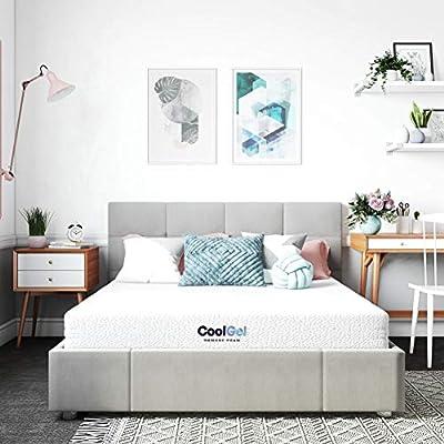 Classic Brands Cool Gel Gel Memory Foam 6-Inch Mattress   CertiPUR-US Certified   Bed-in-a-Box, Full