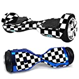 MightySkins Skin Compatible With Hover-1 H1 Hoverboard Scooter - Check | Protective, Durable, and Unique Vinyl Decal wrap cover | Easy To Apply, Remove, and Change Styles | Made in the USA