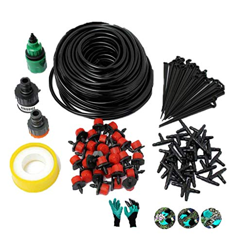 adhere to Fly Lot de 100/Micro irrigation drippers Connect 3//5/mm tuyau droit Fl/èche Serre Potted darrosage Sprinkler