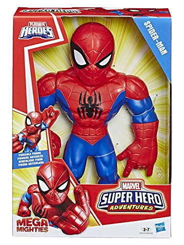 Hasbro-E4132EU42 Mega Mighties Figuras Marvel 26x18cm, Multi