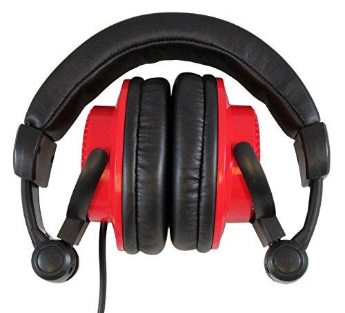 Blast King HP200PRO RD Professional DJ Headphones