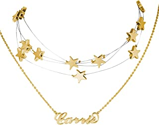 Best soufeel jewelry name necklace Reviews
