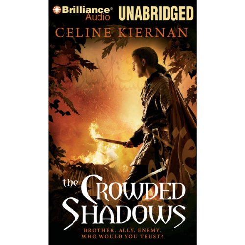 The Crowded Shadows audiobook cover art