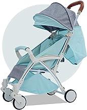 YANGSANJIN Sillas de Paseo Bebe Ligeras,Carritos y sillas de Paseo - sillas de Paseo Ligeras Carritos con capazo - Cochecito Plegable, diseño Moderno con Cesta de la Compra.