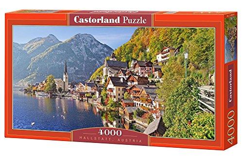 Castorland Hallstatt, Austria 4000 pcs Puzzle - Rompecabezas (Austria 4000 pcs, Puzzle Rompecabezas, Ciudad, Niños y Adultos, Niño/niña, 9 año(s), Interior)
