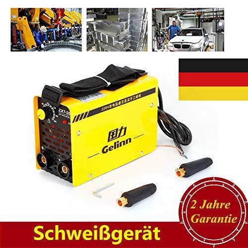 Mini Inverter Schweißgerät YUNRUX 220V Handheld Elektrodenschweißgerät 50/60 Hz IGBT Profi Elektroden Schweißmaschine Schweißinverter 200A