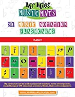 24 Music Notation Flashcards (Color): Mrmikesmusicmats 1514241862 Book Cover