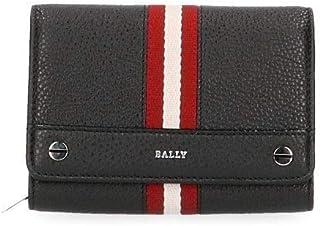 Luxury Fashion | Bally Womens GINNYSTRIPES620503140 Black Wallet | Season Outlet