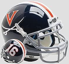 virginia cavaliers mini helmet