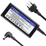 FSKE Adaptador para SONY compatible con Sony Vaio VGP-AC19V67 VGP-AC19V68 Cargador Tipo de conector: 19.5V 3.3A 65W Connecteur: 6.5 * 4.4mm