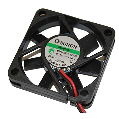 Fan/Ventilateur 12V 1,26W 45x45x10mm 15,6m³/h 27dBA ; Sunon MB45101V2-A99