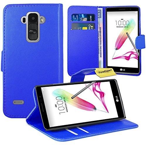 LG G4 Stylus Handy Tasche, FoneExpert® Wallet Hülle Flip Cover Hüllen Etui Ledertasche Lederhülle Premium Schutzhülle für LG G4 Stylus