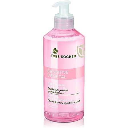 Yves Rocher Sensitive Vegetal Calmante Agua Micelar 2 En 1 Piel Sensible 13 7 Fl Oz 13 1 Fl Oz Beauty