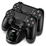 TNP PS4 Controller Charging Station Dock Stand - Dualshock USB Port Dual Charger