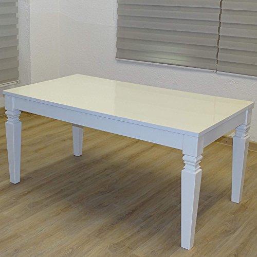 Euro Tische Esszimmertisch weiß Bild 3*