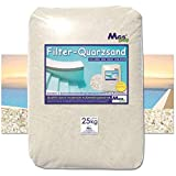 MGS SHOP Filtersand Quarzsand geprüfte Qualität Körnung wählbar (2-4mm)
