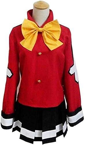 Sunkee Fairy Tail Wendy Marvell Cosplay Rot Kostüm, Größe S ( Alle Größe Sind Wie Beschreibung Gesagt, überprüfen Sie Bitte Die Grüntabelle Vor Der Bestellung )