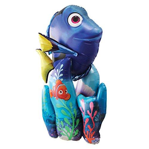 Gigante de 139cm Finding Dory Nemo Airwalker globo peces de arrecife de coral hawaiana fiesta Disney Pixar bajo el mar parte decoración