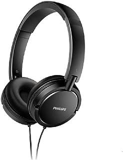 Philips SHL5030BK/00 Supraaural Black Ear Hook – Headphones (Supraaural, Ear Hook, Wired, 9-24000 Hz, 1.2 m, Black)