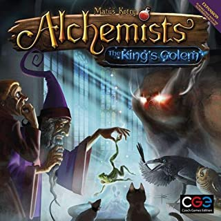 Alchemists - The King's Golem Board & Card Games